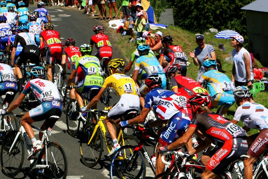 Le Tour de France cycliste arrive en Occitanie